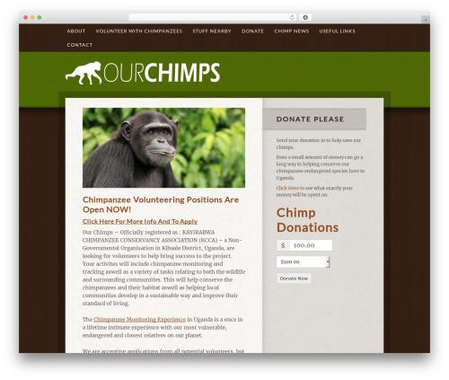 Genesis template WordPress - ourchimps.com
