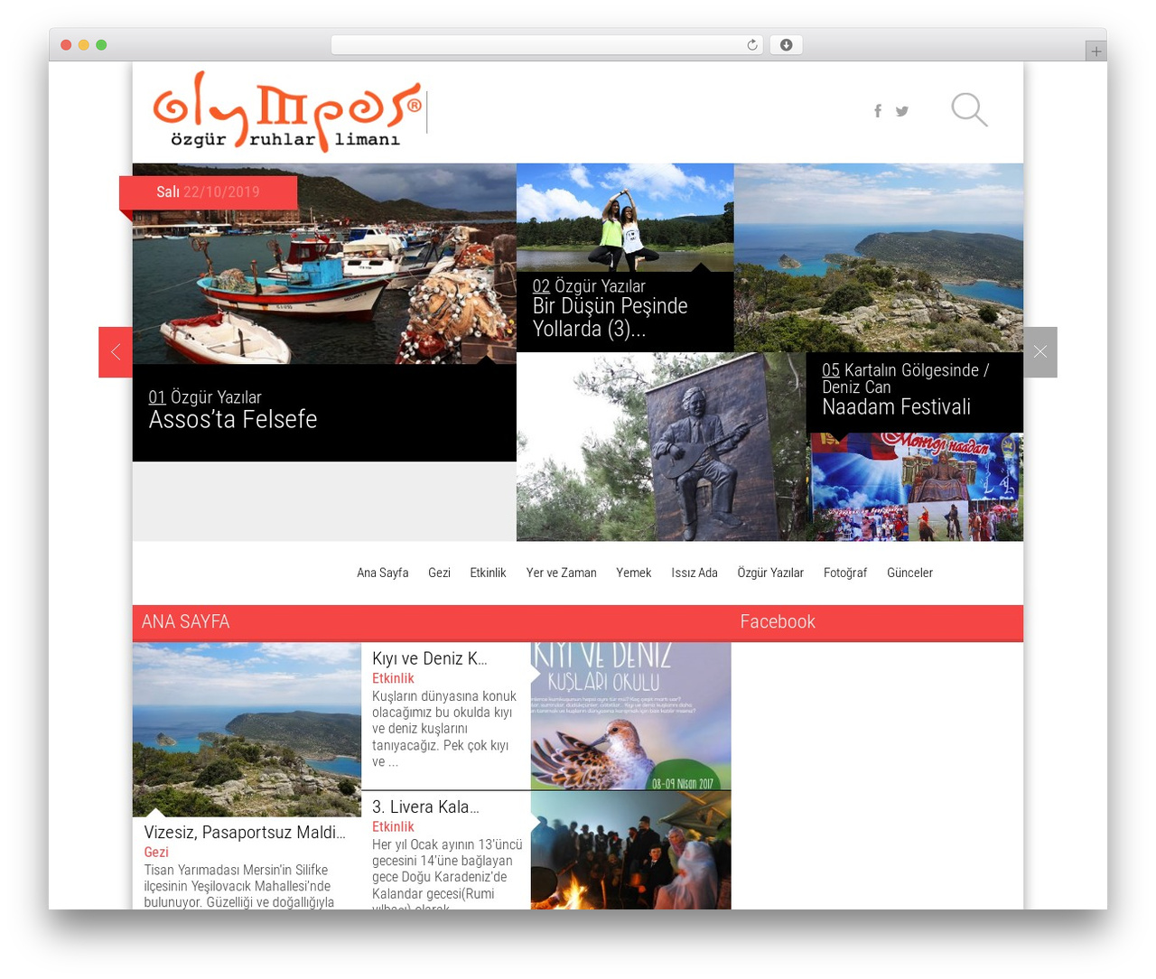 Magazine best WordPress magazine theme - olympos.com.tr