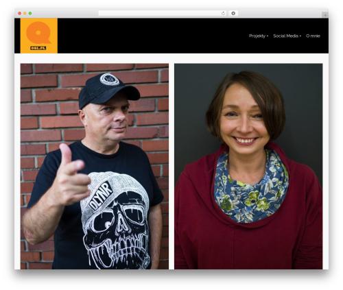 Pinnacle WordPress blog theme - oql.pl