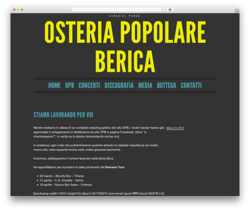 WP template Trvl - osteriapopolareberica.it