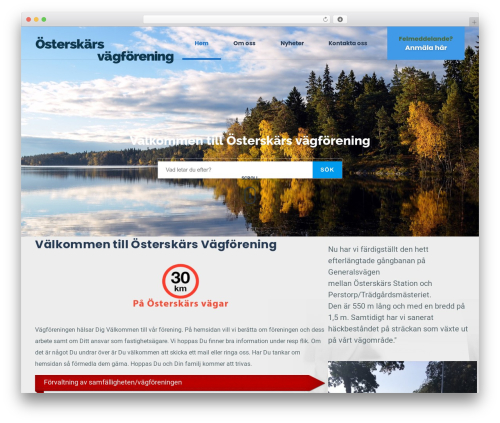Best WordPress template GrowthPress PT - osterskarsvagforening.se