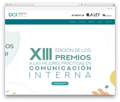 BuilderPress best WordPress template - observatoriocomunicacioninterna.es