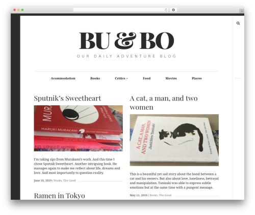 Hive WordPress website template - ouradventures.ro