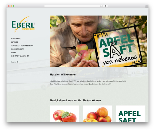Moka WordPress theme design - obstverarbeitung-eberl.at