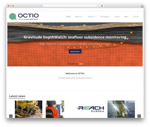 Sento Pro best WordPress theme - octio.com