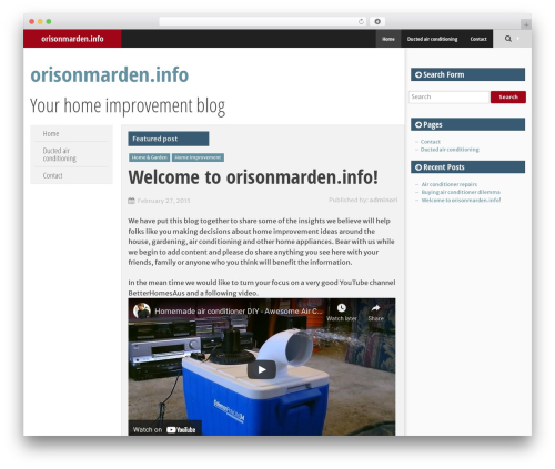 SmartAdapt theme WordPress free - orisonmarden.info