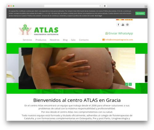 Theme WordPress MedicalDoctor - osteopatiagracia.com