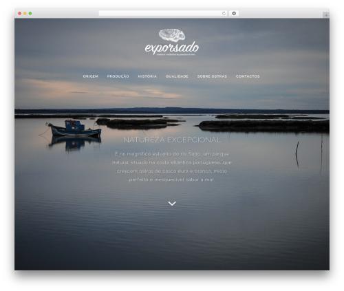WordPress theme Bridge - ostrasportuguesas.com
