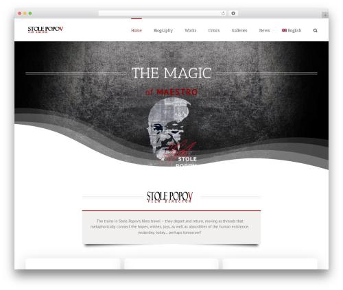 Avada WordPress video template - stolepopov.com