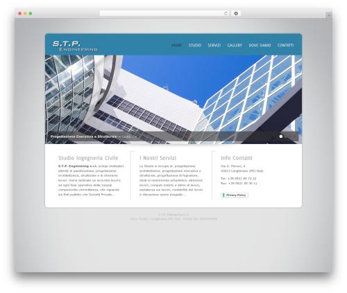 Design Agency WP Edition premium WordPress theme - stpengineering.net