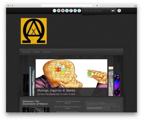Destro.Pro template WordPress - obsidianacumen.com