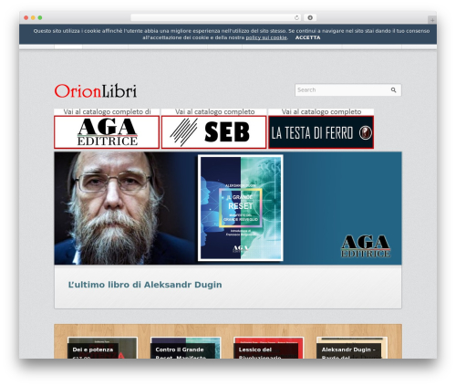 Emporium theme WordPress - orionlibri.net