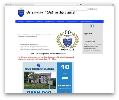 Gantry Theme for WordPress WordPress theme - oudscherpenzeel.nl