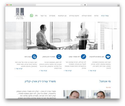 Law business company WordPress theme - okg-law.com
