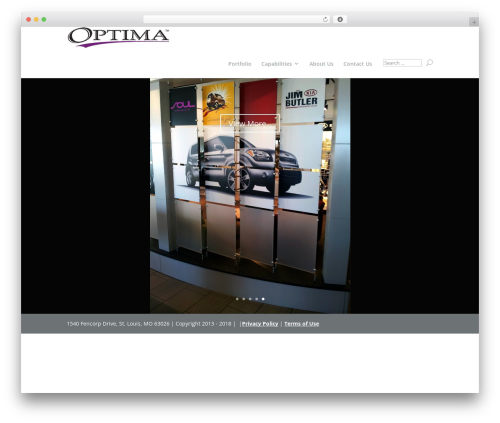 Template WordPress Divi - optimainteriors.com