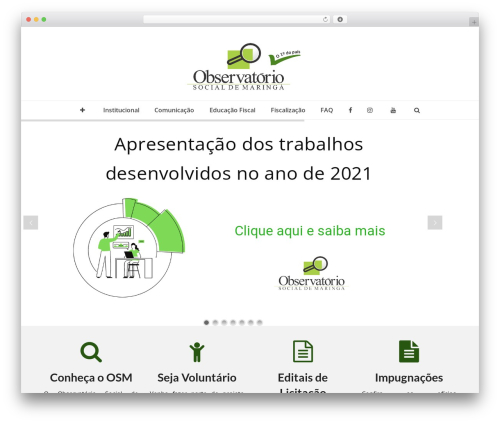 Total WordPress template free download - observatoriosocialmaringa.org.br