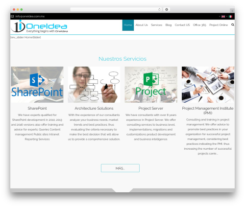WordPress website template AccessPress Staple Pro - oneidea.com.mx