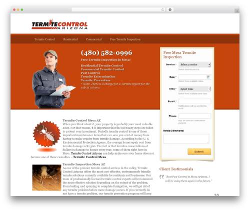 Appointment theme free download - termite-control-mesa.com