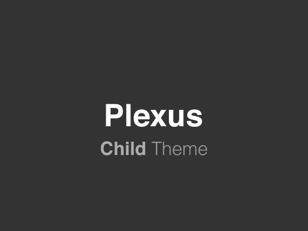 Best WordPress template Plexus Child