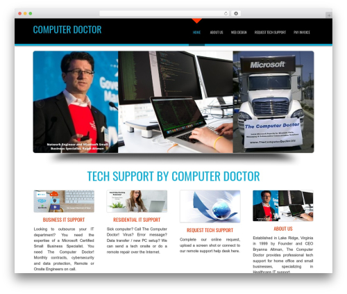 D5 Business Line Extend best WordPress template - thecomputerdoctor.biz