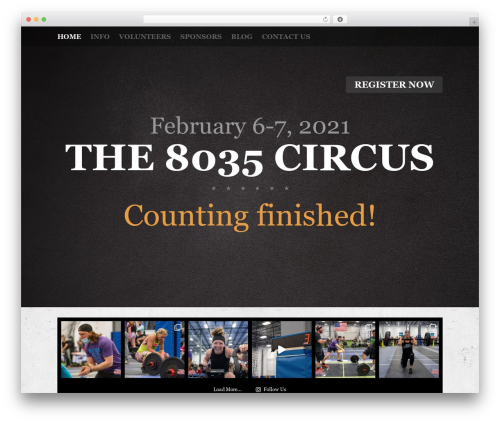 Fest top WordPress theme - thecfcircus.com