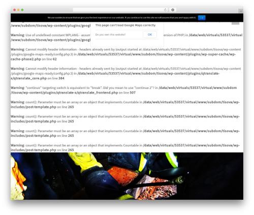 Flat Bootstrap template WordPress free - tisova.majaczech.cz