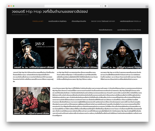 Guideline free WordPress theme - frozilla.net