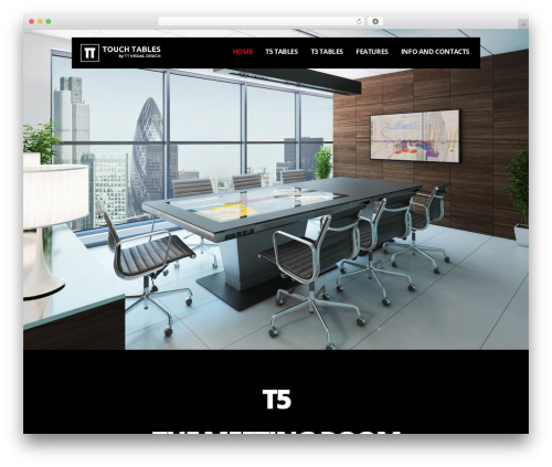 Inside Theme theme WordPress - t3.eyevis.it