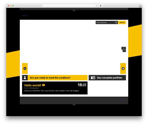 LondonCreative+ v4.3 WordPress blog theme - thedutchslayer.net