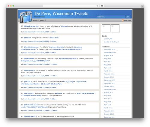 OfficeFolders WordPress theme - tweets.depere.com
