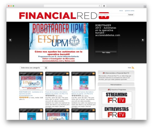 On Demand WordPress theme - tv.financialred.com