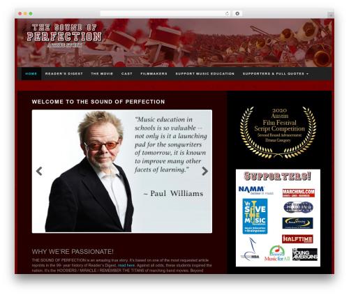 PressNews best WordPress magazine theme - thesoundofperfection.com