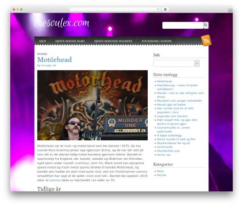 Snowblind free WP theme - thesoulex.com