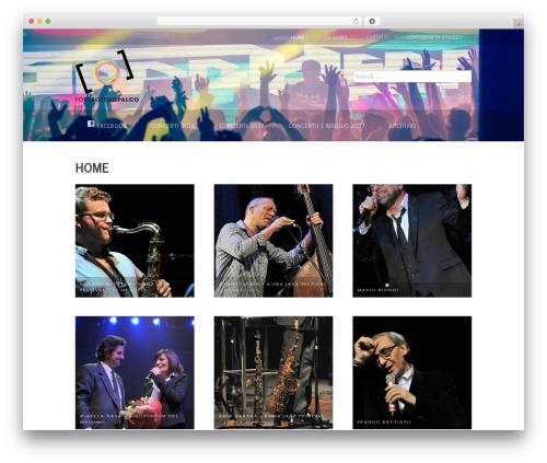 Stock Photography photography WordPress theme - fotosottoilpalco.com