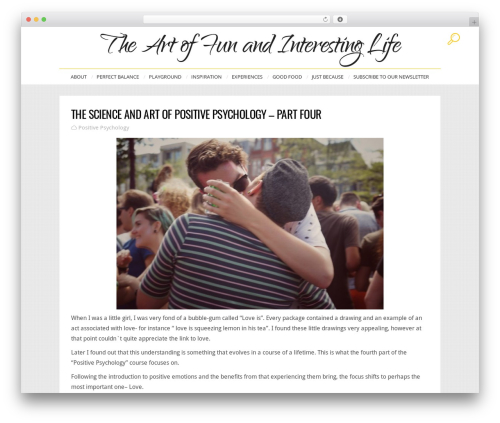 Theme WordPress John Doe Blog - funandinterestinglife.com