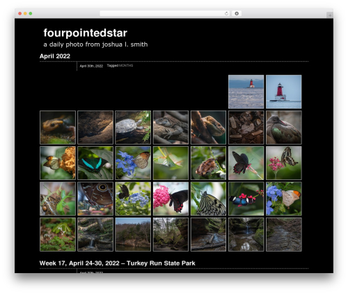 Theme WordPress Zack 990 - fourpointedstar.com