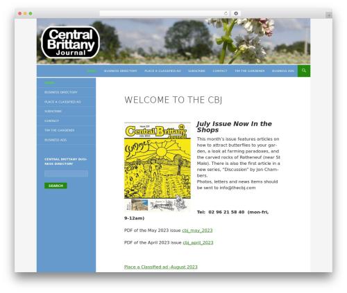 Twenty Fourteen template WordPress free - thecbj.com