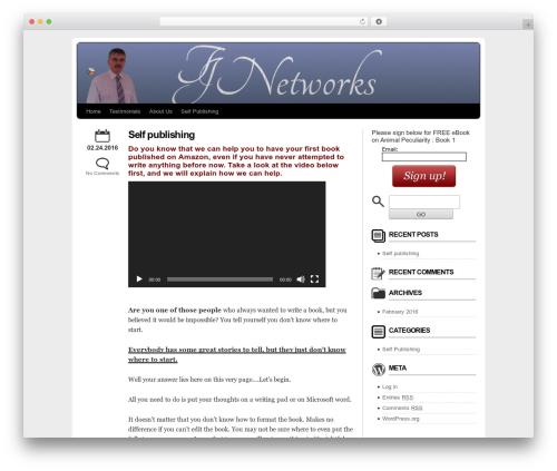WordPress template MarketerCMS - terjnetworks.com