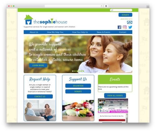 Free WordPress Page-list plugin - thesophiehouse.org