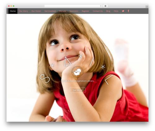 Arcade Basic template WordPress free - sail-w3.org