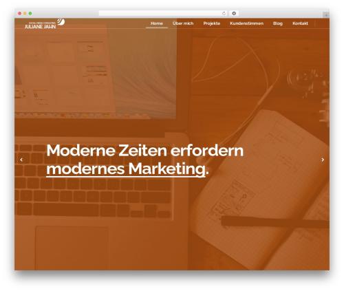 Pitch WordPress template - socialmedia-consulting.com