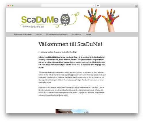 Twenty Thirteen template WordPress free - scadume.se
