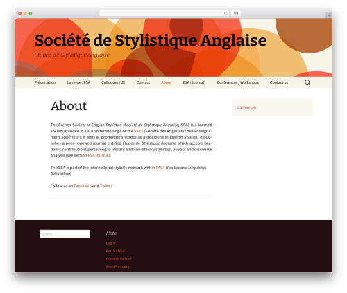 Twenty Thirteen WordPress free download - stylistique-anglaise.org