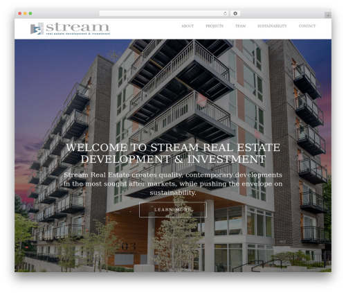 Visia real estate template WordPress - streamre.com