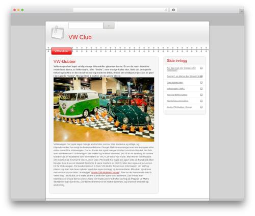 Modern Notepad premium WordPress theme by AOE - townshift.com