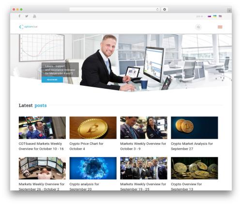 California theme WordPress - optionclue.com