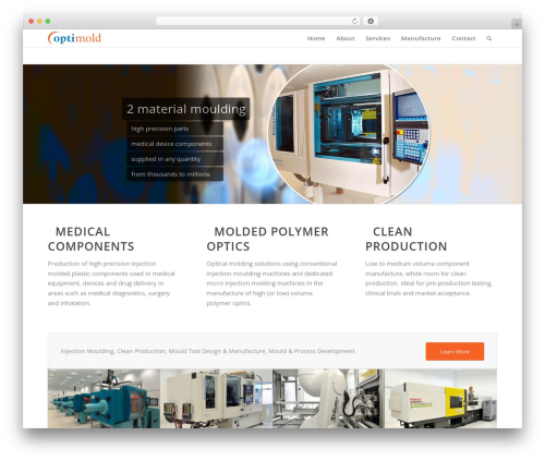 Enfold WordPress theme - optimold.uk.com