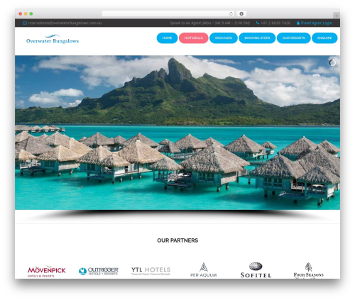 Template WordPress Dynamik-Gen - overwaterbungalows.com.au