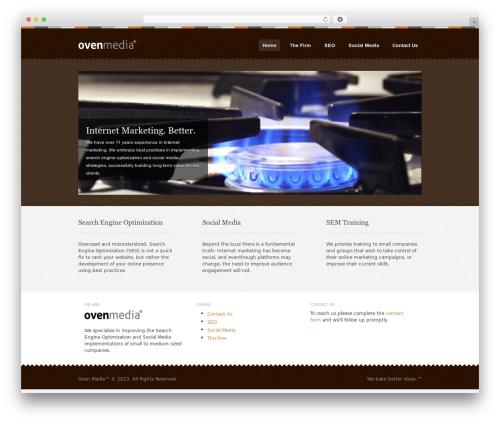 Template WordPress Swatch - ovenmedia.com