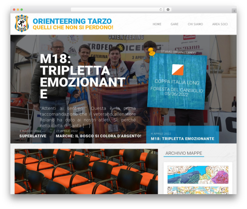 WordPress theme OrTarzo2015 (Everal) - ortarzo.it